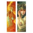 Female Pan and Phoenix (Bookmark)