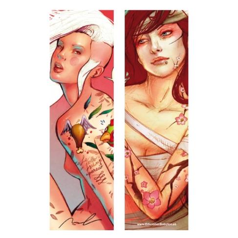 Tattoo 2 and Wild chicken (Bookmark)
