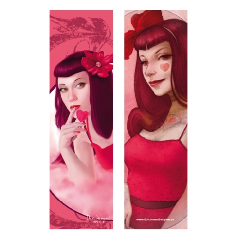 Pin up love and Candy (Bookmark)