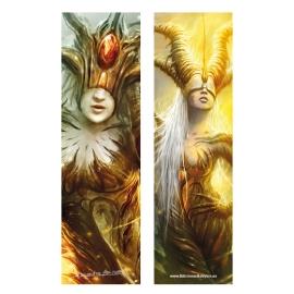 Hija del sol y Guardianas de las puertas de oro