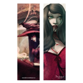 Bleeding love and Poison (Bookmark)