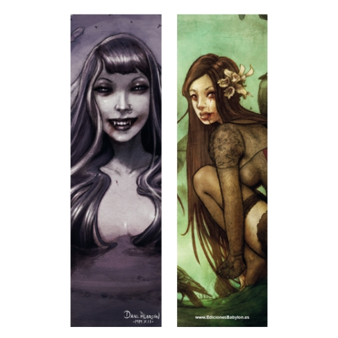 Lost dark princess and Thirsty (Bookmark)