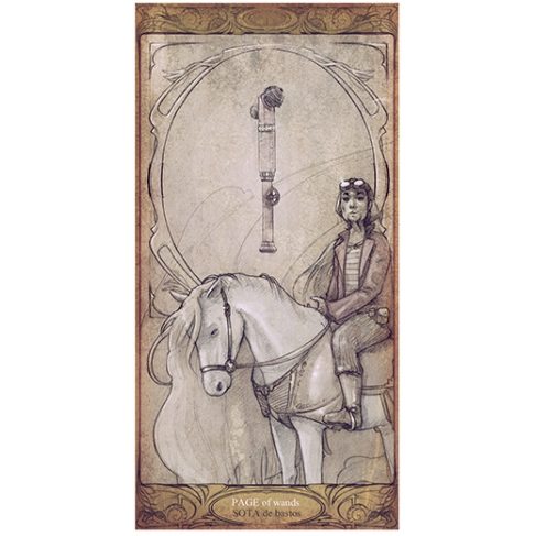 Horse of wands (Collector sheet)