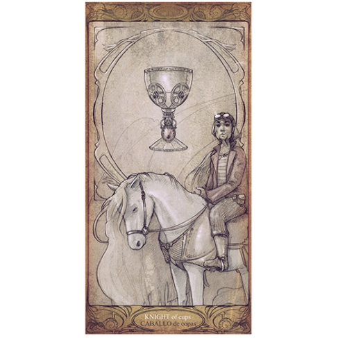 Horse of cups (Collector sheet)