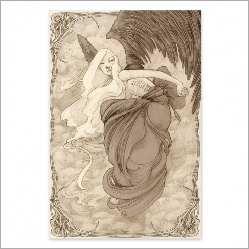 Alada drawing (Poster)