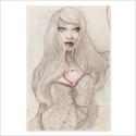 Bleeding love pencil (Poster)