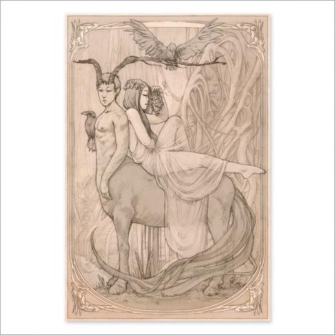 Centaur colour (Poster)