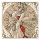 Geisha Steampunk - Dibujo