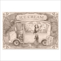 Ice Cream time drawing (Poster)