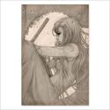 Katana drawing (Poster)