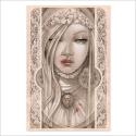La novia - Dibujo