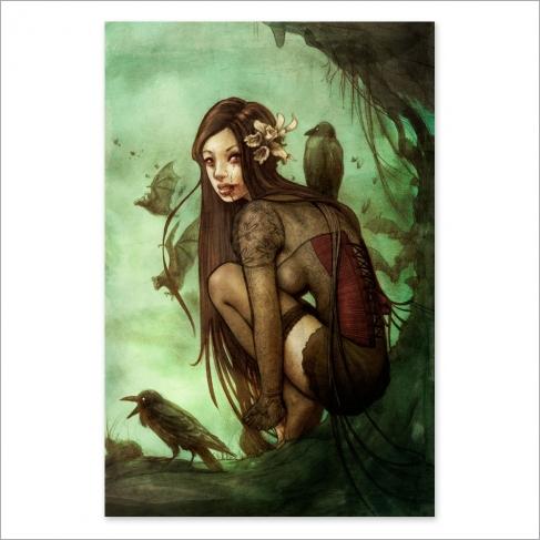 Lost dark princess - Color
