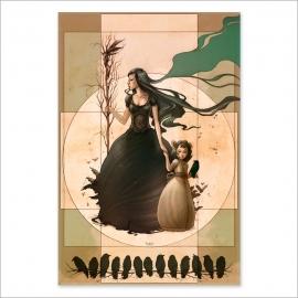 Mother bird colour (Poster)