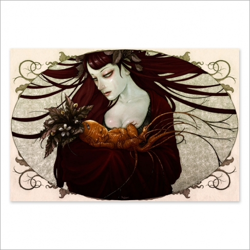 Mandrake colour (Poster)