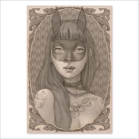 Máscara - Dibujo
