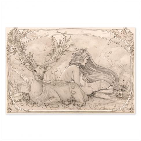 Memento mori - Dibujo