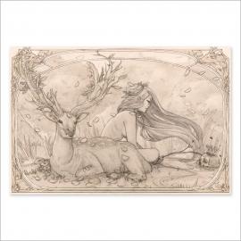 Memento mori drawing (Poster)