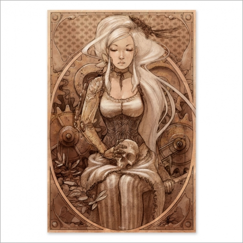 Steampunk colour (Poster)