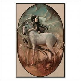 Unicorn colour (Poster)