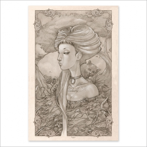 Unlucky Girl - Dibujo