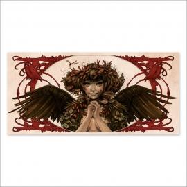 Chica hojas - Color
