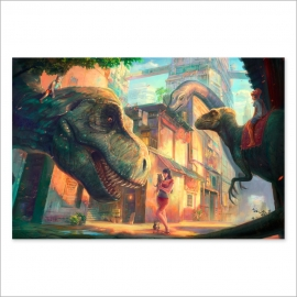 Tribute to Dinotopia (Poster)