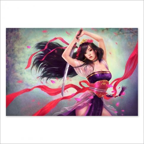 Japanese girl (Poster)