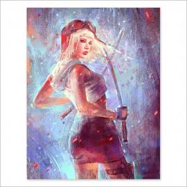 Katana girl (Poster)