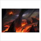 Lava fields (Poster)
