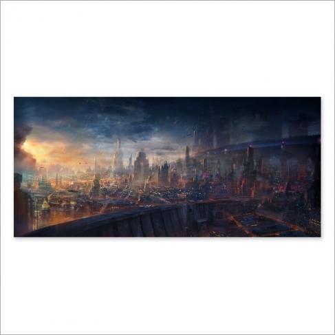 Modern City (Poster)