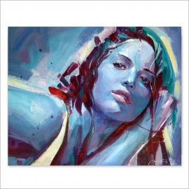 Blue girl 2 (Poster)