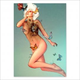 Bye, bye butterflies digital (Poster)