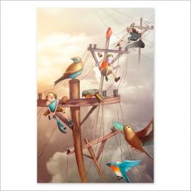 Rail bird (Poster)
