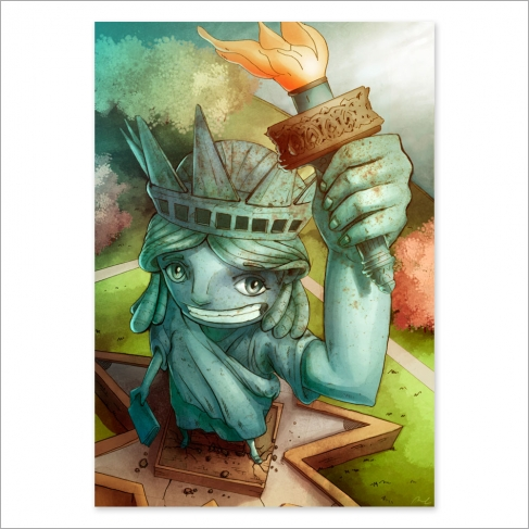 Statue of liberty (Poster)
