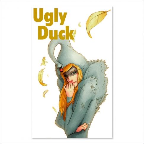 Queen of ducks (Poster)