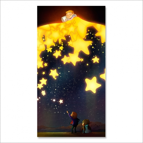 A mantle of stars (Poster)
