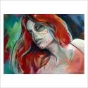 Skull Girl 5 (Poster)