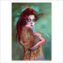 Skull Girl 4 (Poster)