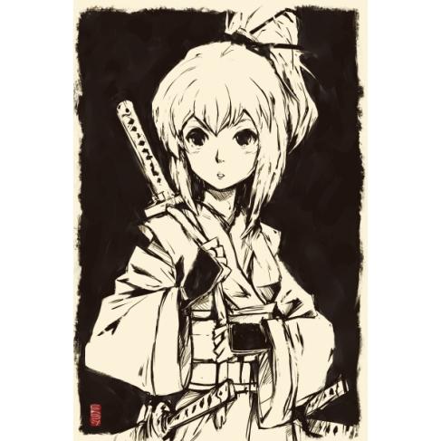 Poster Ukiyoe