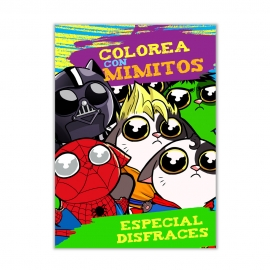 Colorea con Mimitos - Especial disfraces