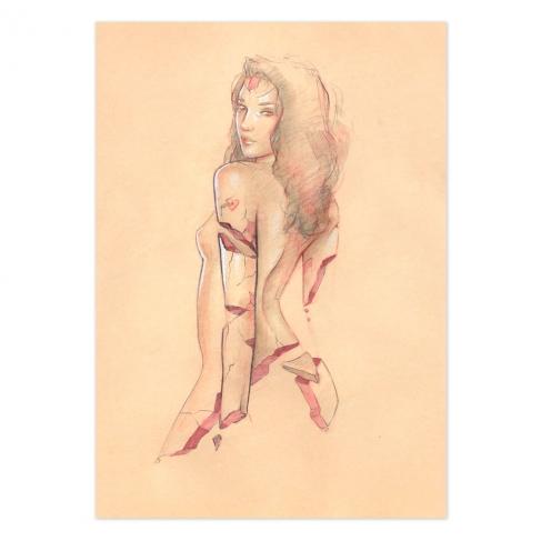 Jorge Monreal Original Painting