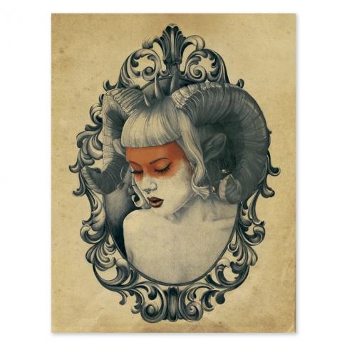 Ignis fatuus colour (Poster)