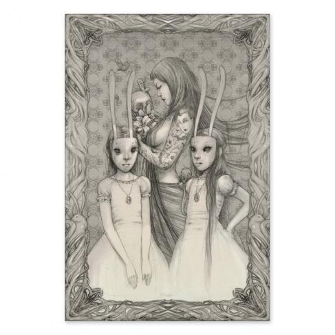 Rabbit twins - Dibujo