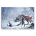 Little Red Riding Hood (Canvas)