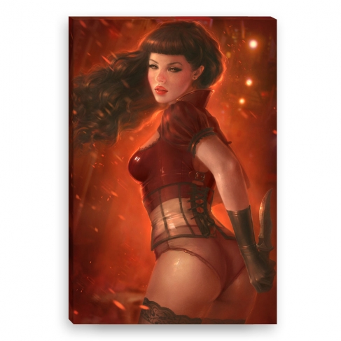Killer Pin-up (Canvas)