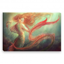 Mermaid (Canvas)