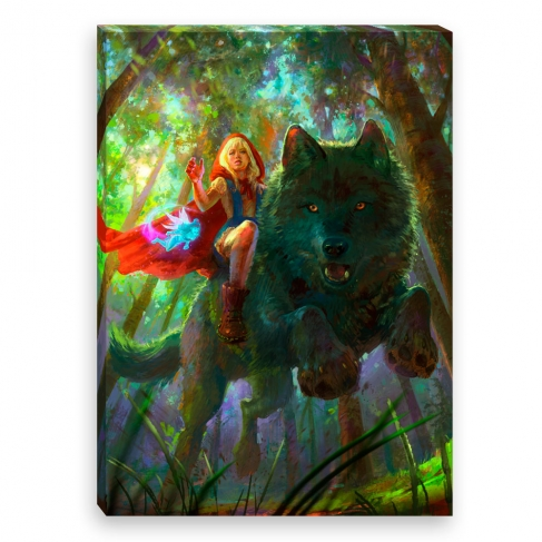 Tinkerbells bothering (Canvas)