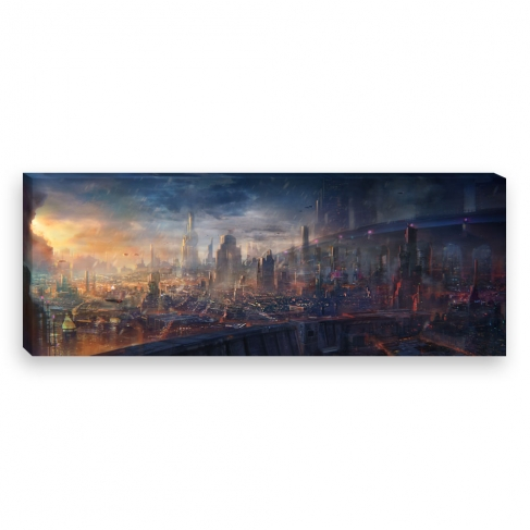 Modern city (Canvas)