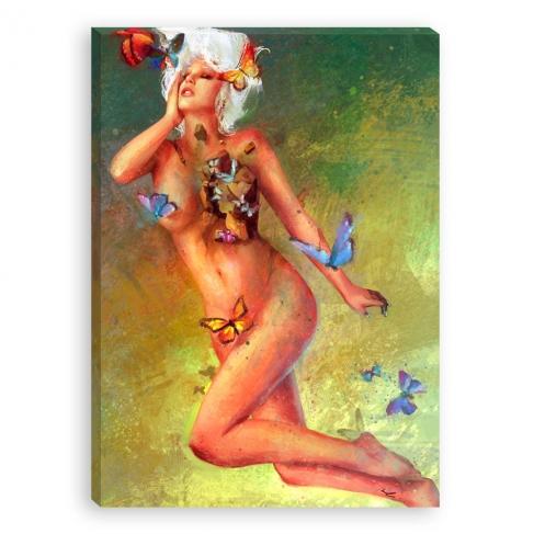 Bye, bye butterflies - pintura
