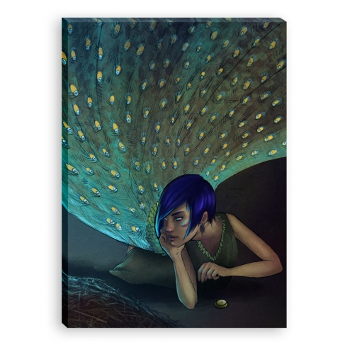 Peacock (Canvas)